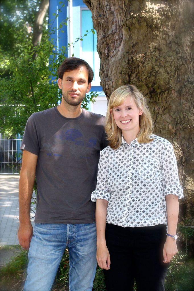 Unsere Beratungslehrer: Daniel Hense und Julia Crede