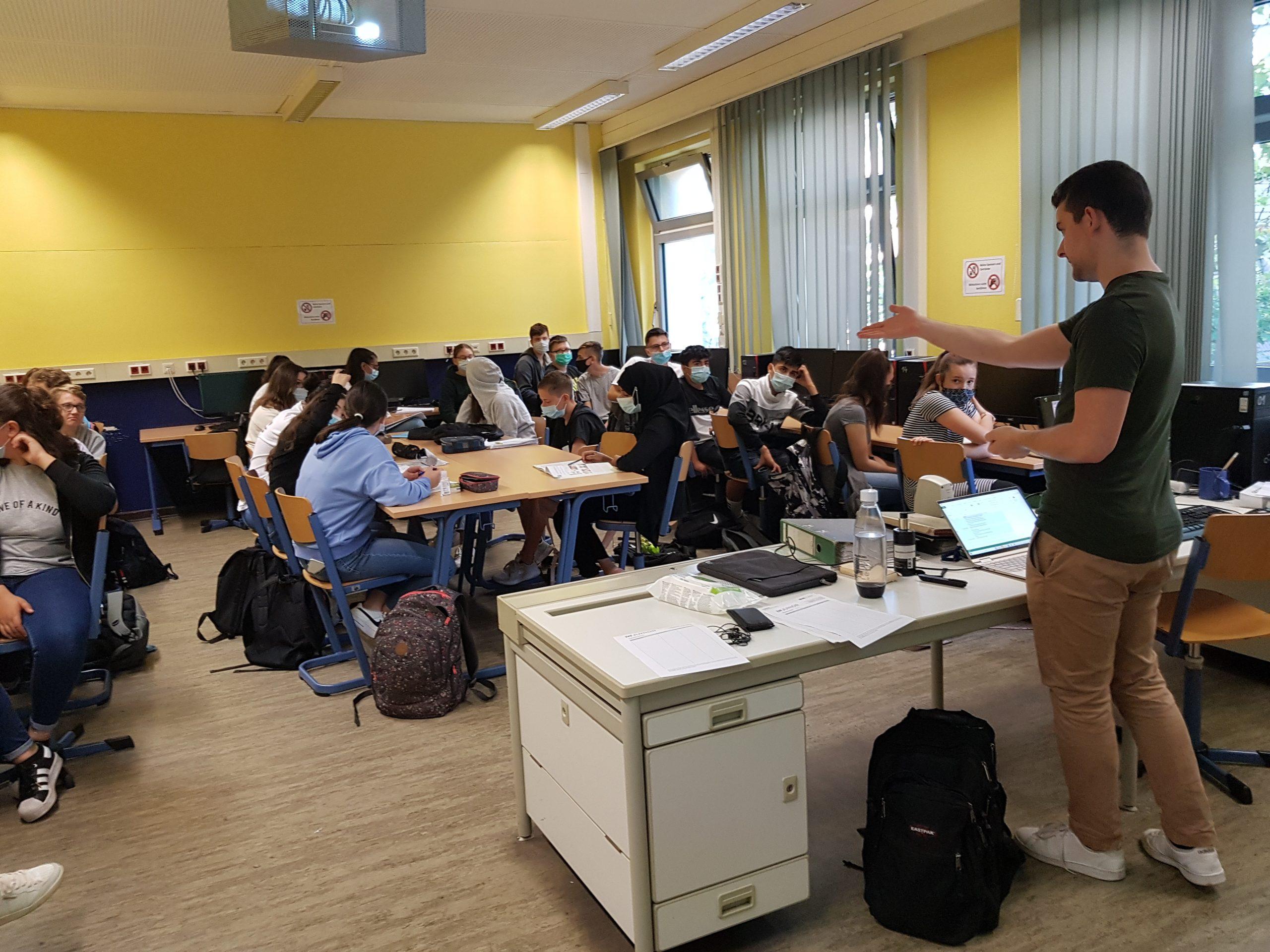 Workshop für unsere zwei neuen Schülerunternehmen