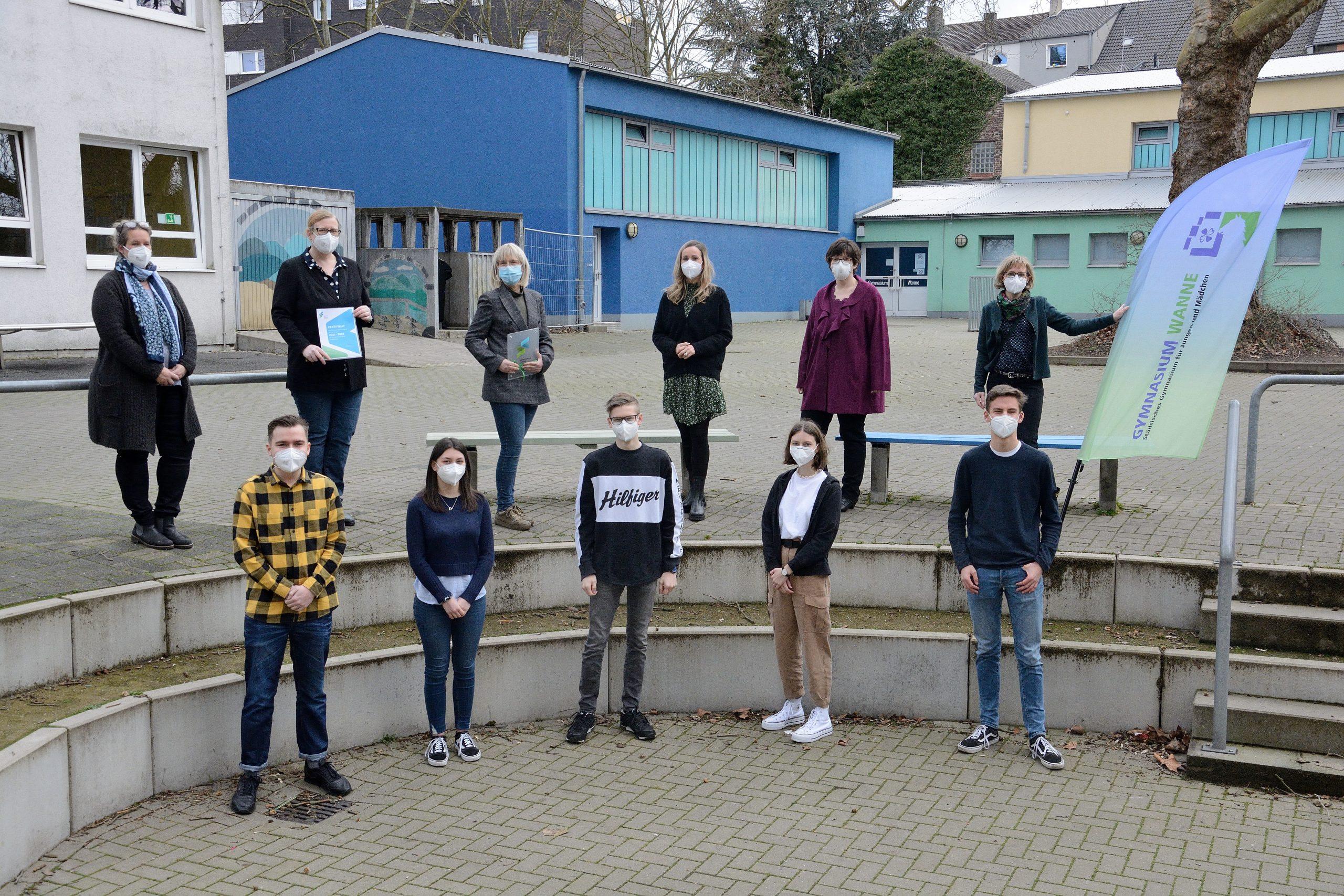 Gymnasium Wanne: Ausgezeichnet!